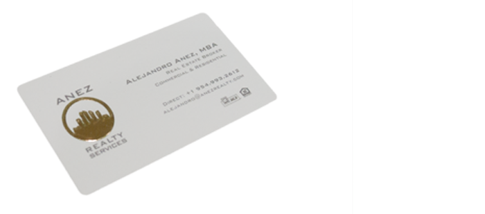 miami beach investment realty - High Quality Business Cards