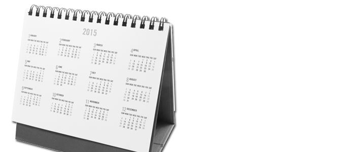 Desk, Wall & Case Calendars