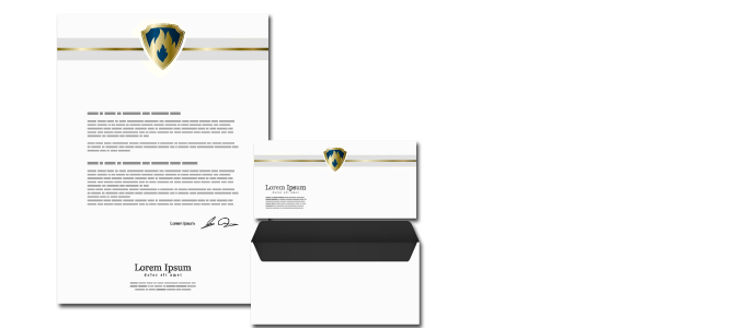 Stationery: Letterheads, Envelopes and Note Pards